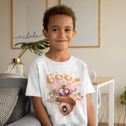 TRIO DE FRUITS CARTOON T-SHIRT ENFANT