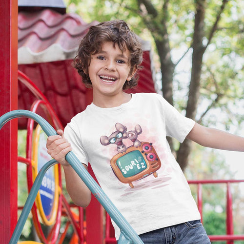 SOURIS SOURIEZ CARTOON T-SHIRT MIXTE ENFANT