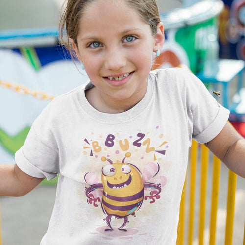 ABEILLE B-BUZZ CARTOON T-SHIRT MIXTE ENFANT