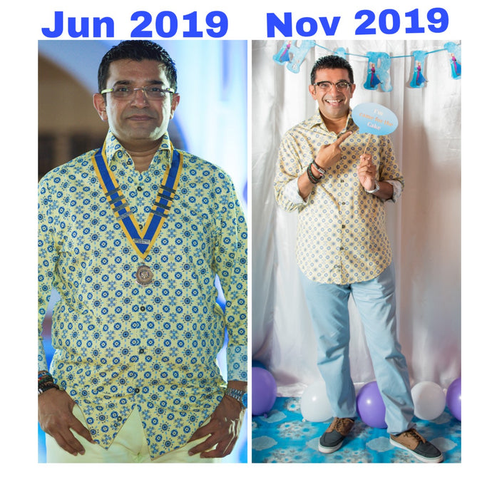 Fitness at 50 and beyond: Vikash Shah from Tanzania