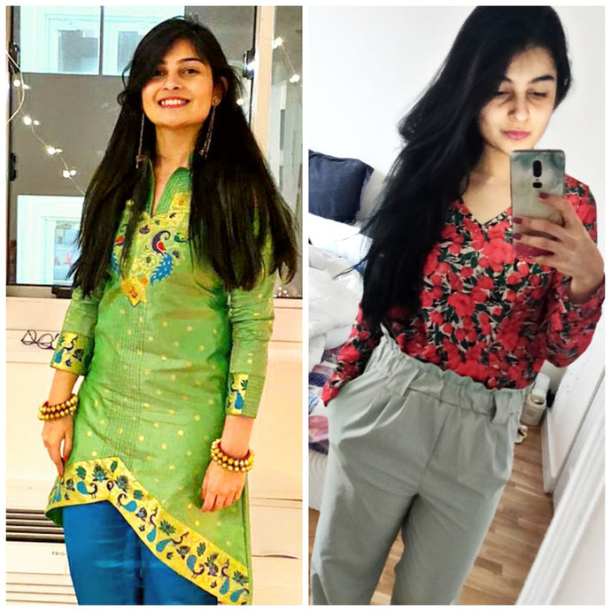 From Fat to Fab - Namaswi Chandrana reclaimed her desired body shape during lockdown!