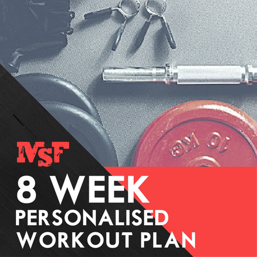 8 Week Personalised Workout Plan