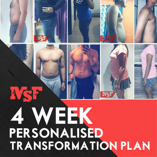 4 Week Personalised Transformation Plan
