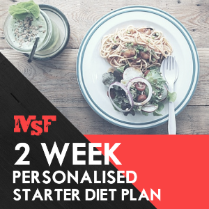 MSF Personalised 2 Week Diet Plan Upgrade