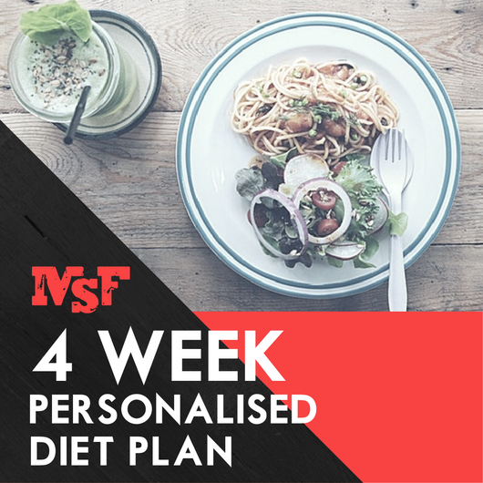 4 Week Personalised Diet Plan