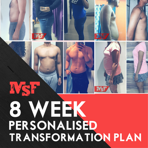 8 Week Personalised Transformation Plan