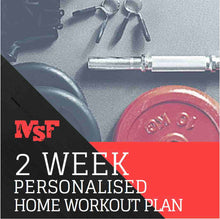 Load image into Gallery viewer, MSF 2 Week Home Workout Plan