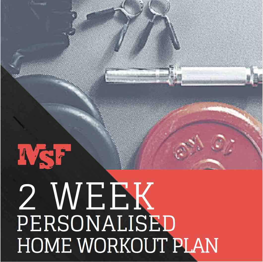 MSF 2 Week Home Workout Plan