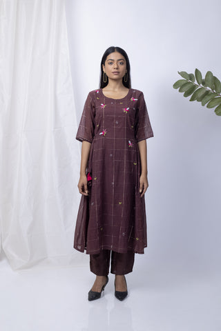 Woodrose Kurta Set