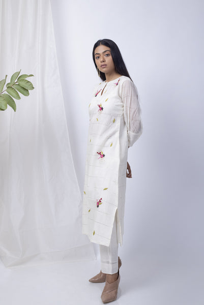 Sufiyan White Kurta Set