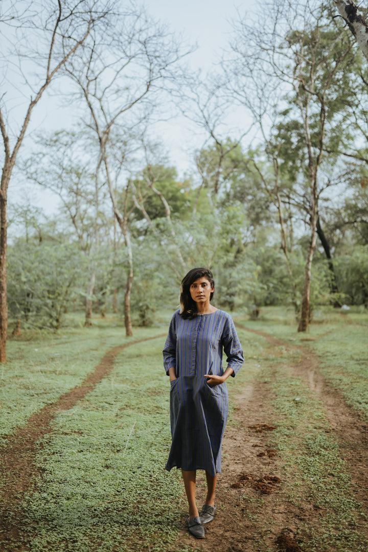 Lake Blue Straight Tunic