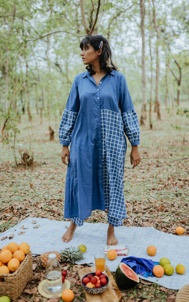 Blue Skies Kurta and Pants Set