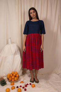 Aster Gathered Dress