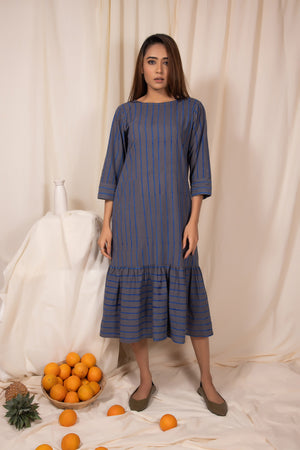 Greywood Flared Hem Dress