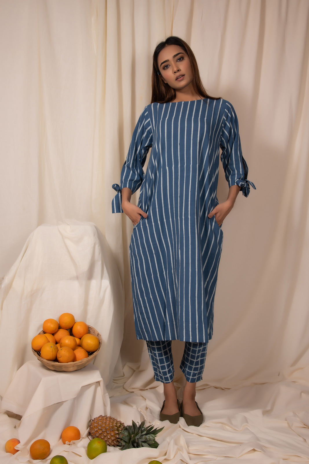 Bluemoon Tunic and Pants Set