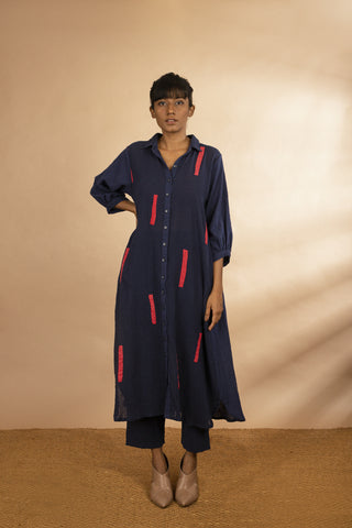 'Pankti' Button Down Tunic