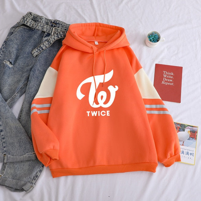 TWICE '3 Stripped Colors' Hoodies - Kpopersify