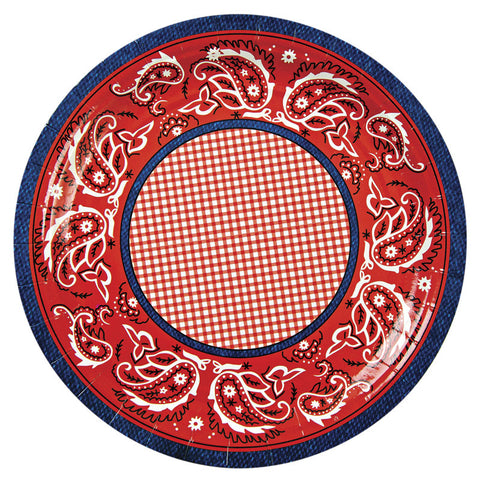 "Howdy Cowboy 9"" Party Plates"
