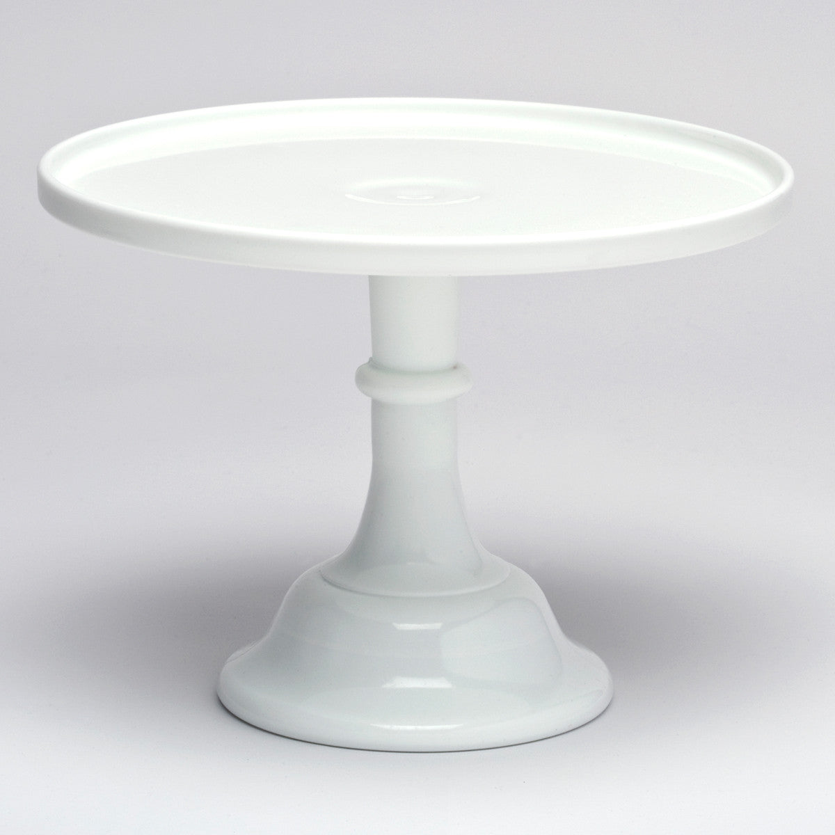 £3.00 GBP  sc 1 st  Castles and Cupcakes & White Milk Glass Cake Stand - For Hire