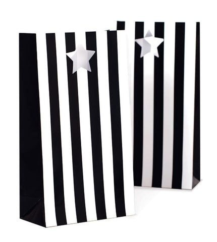 Black and White Party Bags
