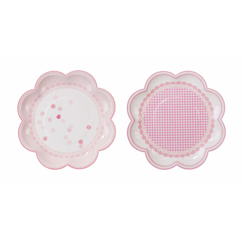 Pink 'n Mix Paper Plates