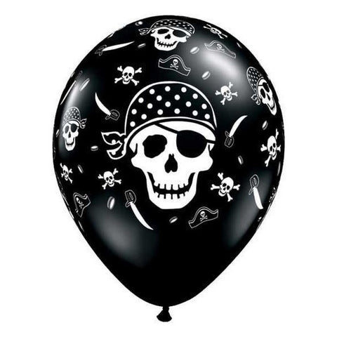 Balloons - Pirate Skull & Cross Bones