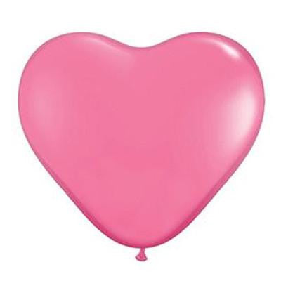 Pink Heart Balloons Large