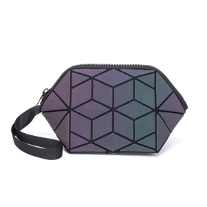 MATTE REFLECTIVE COSMETIC BAG