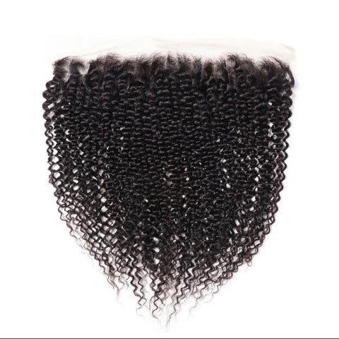 MONGOLIAN KINKY CURLY LACE FRONTAL