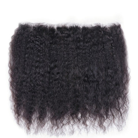 MONGOLIAN KINKY STRAIGHT LACE FRONTAL