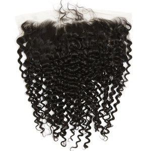 CAMBODIAN DEEP CURLY LACE FRONTAL
