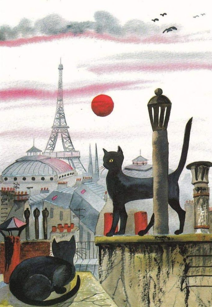 Katzen in Paris
