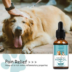 ESSENTIAL HEMP OIL FOR PETS - My Relaxed Pet