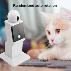 SMART ROBOT WITH LAZER. CAT PLAYMATE - My Relaxed Pet