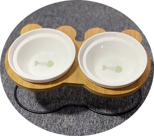 High-end Ceramic Feeding and Drinking Bowls - My Relaxed Pet