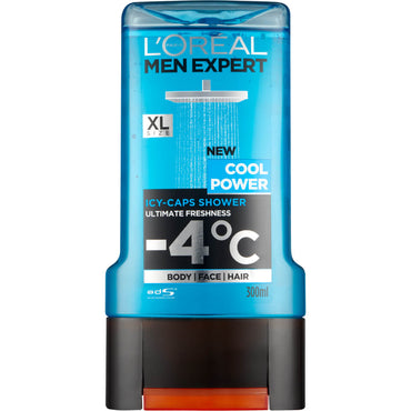 L'oreal Men Expert Cool Power Gel Douche 300 ML