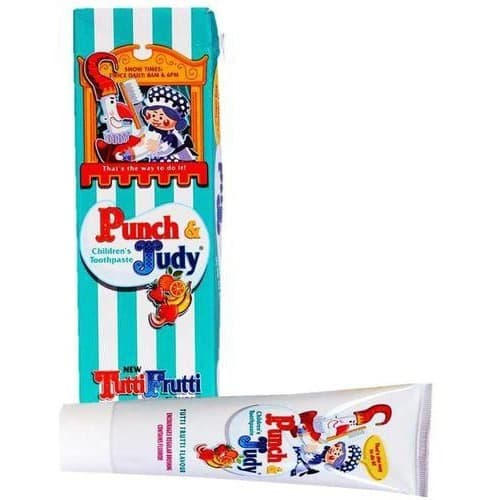 Punch and Judy 50ml pâte dentifrice Tutt-Frutti (Pour Enfant)
