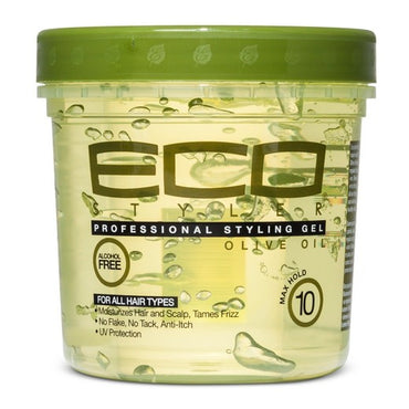 Gel coiffante eco styler olive oil cheveux crepus frises  236 ML