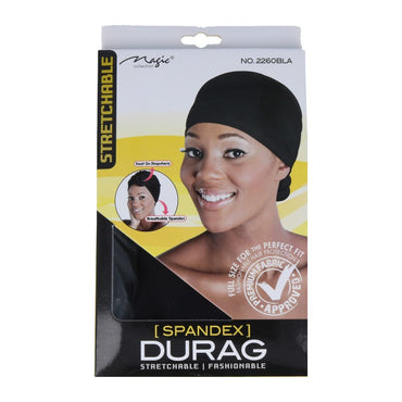 Magic Bonnet Attache Magic Collection – Respirant/Tendance Spandex Durag N ° 2260b