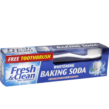 baking soda dentifrice blanchissant