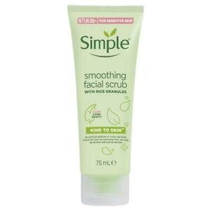 Simple Kind to Skin Smoothing Gommage Visage 75 ml