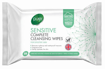 Pure Lingettes pour le visage Pure Sensitive 25 wipes