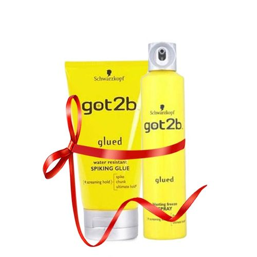 Pack Got2b colle jaune+ Spray pour lace frontal