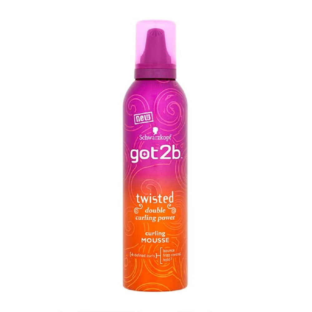 Schwarzkopf got2b Twisted Curling Mousse Ondulante 250ml