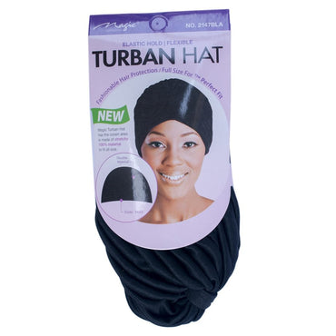 Magic Turban De La Collection Magic Hold élastique