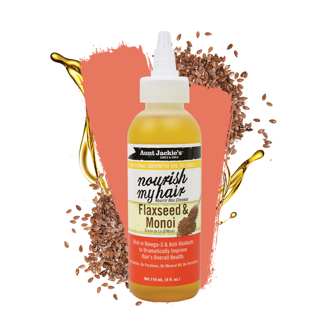 Aunt Jackie's Nourish my Hair Flaxseed & Monoi 118 Ml