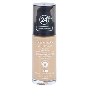 Revlon colostay 24hrs  330 natural tan matt finish
