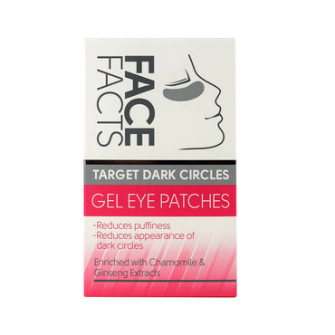 FACE FACTS GEL EYE PATCHES ~ cibler cercles sombre au tour des yeux