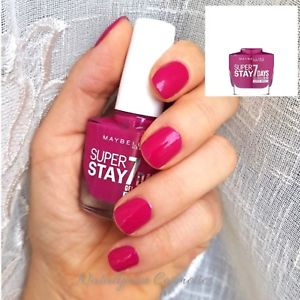 Maybelline SuperStay 7 Days Super Impact Nail Polish 24/7 Fuchsia 886