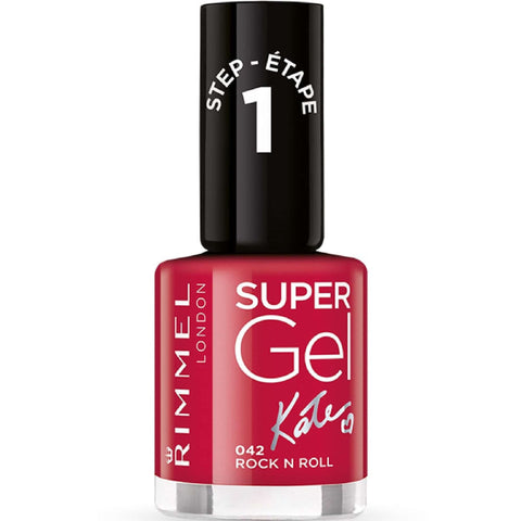 RIMMEL LONDON Rimmel London Super Gel Colour Nail Polish - Rock N Roll (042) 12ml